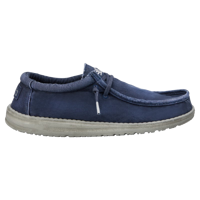 SCARPA DA UOMO DUDE WALLY WASHED NAVY