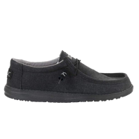 SCARPA DA UOMO DUDE WALLY JET BLACK
