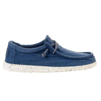 SCARPA DA UOMO DUDE WALLY WASHED STEELBLUE