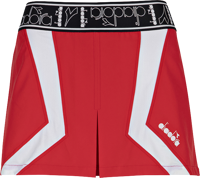 GONNA DA TENNIS DONNA DIADORA  SKORT ROSSO