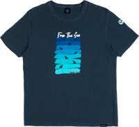 T-SHIRT DA UOMO NORTH SAILS BLU NAVY