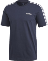T-SHIRT DA UOMO ESSENTIALS 3-STRIPES BLU
