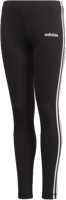 LEGGINGS JUNIOR ADIDAS ESSENTIALS 3-STRIPES NERO