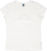 T-SHIRT DA DONNA NORTH SAILS BIANCA CON LOGO IN PAILLETTE