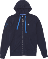 FELPA DA UOMO NORTH SAILS CON ZIP BLU