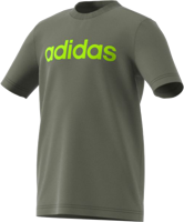 T-SHIRT JUNIOR ADIDAS ESSENTIALS LINEAR LOGO GRIGIO