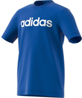 T-SHIRT JUNIOR ADIDAS ESSENTIALS LINEAR LOGO AZZURRO