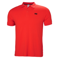 POLO UOMO HELLY HANSEN DRIFTLINE POLO ALERT RED