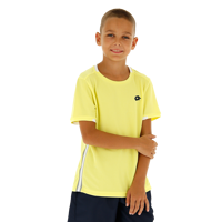 T-SHIRT JUNIOR LOTTO SQUADRA GIALLO