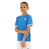 T-SHIRT JUNIOR LOTTO TOP TEN II AZZURRO