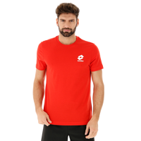 T-SHIRT UOMO LOTTO TEE BS JS ROSSA