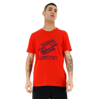 T-SHIRT UOMO LOTTO TEE LOSANGA PLUS JS ROSSA