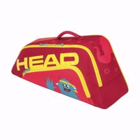 BORSA TENNIS JUNIOR HEAD COMBI N0VAK ROSSO GIALLO