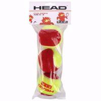 PALLINE TENNIS JUNIOR  HEAD TIP RED X3