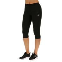 LEGGINS DONNA LOTTO SMART W LEGGING MID PL NERO