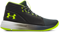 SCARPA DA BASKET JUNIOR UNDERARMOUR BGS TORCH MID NERO