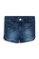SHORTS BABY GIRL IN DENIM CON TOPPE A CUORE ESPRIT
