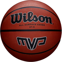 PALLONE DA BASKET WILSON MVP MARRONE