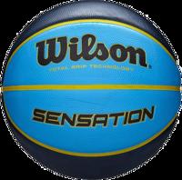 PALLONE DA BASKET WILSON SENSATION SR 285 NERO BLU