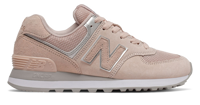 SCARPA LIFESTYLE DA DONNA NEW BALANCE 574 SUPER CORE GRIGIA