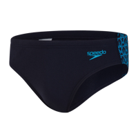 COSTUME DA UOMO SLIP SPEEDO BOOMSTAR SPLICE 7CM BRIEF BLU