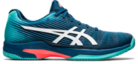 SCARPA DA TENNIS DA UOMO ASICS GEL-SOLUTION SPEED FF CLAY MAKO BLUE