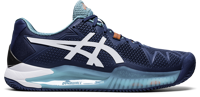 SCARPA DA TENNIS DA UOMO ASICS GEL-RESOLUTION 8 CLAY MAKO BLUE