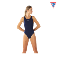 COSTUME INTERO DA DONNA CTP HEAD SOLID ULTRA BLU NAVY