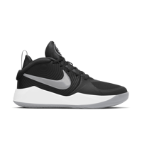 SCARPA DA BASKET JUNIOR NIKE TEAM HUSTLE D 9 NERA