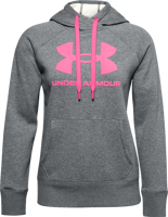 FELPA DA DONNA UNDER ARMOUR RIVAL FLEECE LOGO GRIGIA