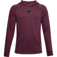 FELPA DA RAGAZZO UNDER ARMOUR PROJECT ROCK CC HOODIE VIOLA