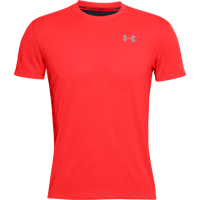 T-SHIRT DA UOMO UNDER ARMOUR STREAKER 2.0 SHORT SLEEVE ROSSA