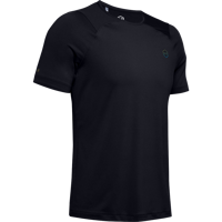 T-SHIRT DA UOMO UNDER ARMOUR HG RUSH FITTED SS NERA