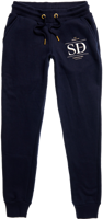 PANTALONI DI TUTA DA DONNA SUPERDRY ESTABLISHED JOGGER BLU