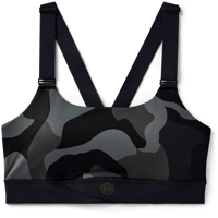 REGGISENO SPORTIVO UNDER ARMOUR RUSH MID CAMO BRA NERO