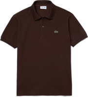 POLO DA UOMO LACOSTE MANICA CORTA REGULAR MARRONE
