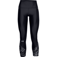 LEGGINGS 7/8 DA DONNA UNDERARMOUR HG ARMOUR PRINT NERO