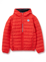 BOMBER CON CAPPUCCIO DA BAMBINO NORTH SAILS SKYE 2 CHINESE RED