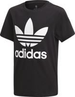 T-SHIRT JUNIOR ADIDAS TREFOIL NERA