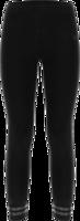 LEGGINGS BAMBINA CON BANDE GLITTER SULLE CAVIGLIE 7/8 FREDDY  NERO