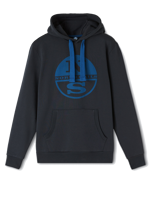 FELPA CON CAPPUCCIO DA UOMO HOODED NORTH SAILS BLU NAVY