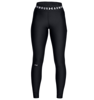 LEGGINGS 7/8 DA DONNA HEATGEAR UNDER ARMOUR BRANDEND WAISTBAND NERO