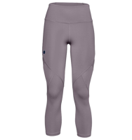 LEGGINGS DA DONNA 7/8 UNDERARMOUR UA RUSH CROP LILLA