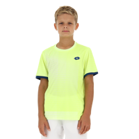 T-SHIRT DA BAMBINO LOTTO TOP TEN B II TEE PRT PL GIALLA