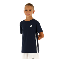 T-SHIRT JUNIOR LOTTO SQUADRA BLU