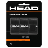 OVERGRIP HEAD PRESTIGE PRO 3 PCS PACK NERO