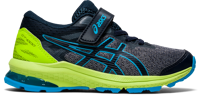 SCARPA DA CORSA JUNIOR ASICS GT-1000 10 PS BLU LIME