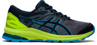 SCARPA DA CORSA JUNIOR ASICS GT-1000 10 GS BLU LIME