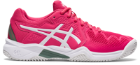 SCARPA DA TENNIS JUNIOR ASICS GEL-RESOLUTION 8 CLAY GS ROSA