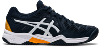 SCARPA DA TENNIS JUNIOR ASICS GEL-RESOLUTION 8 CLAY GS BLU